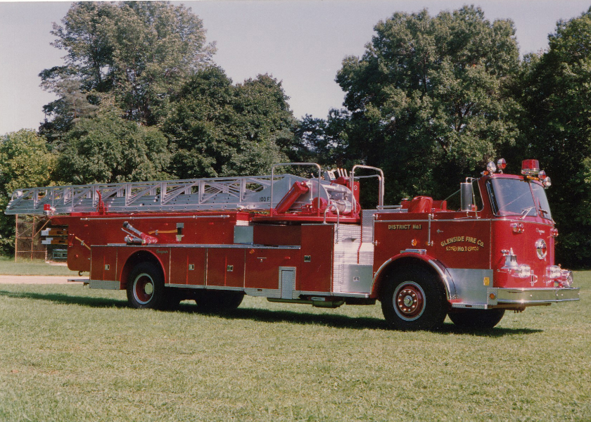 1976 Seagrave 100ft. Ladder Truck